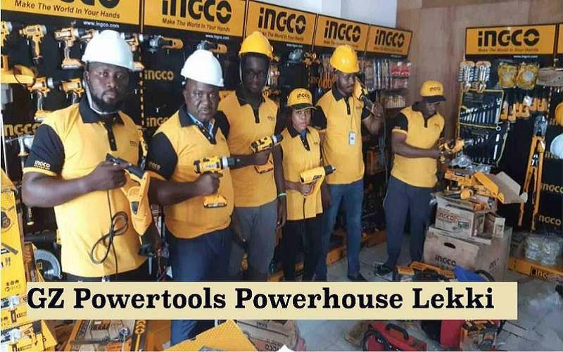 GZ INDUSTRIAL SUPPLIES LIMITED POWER TOOLS SHOWROOM IN LEKKI OPEN FOR BUSINESS